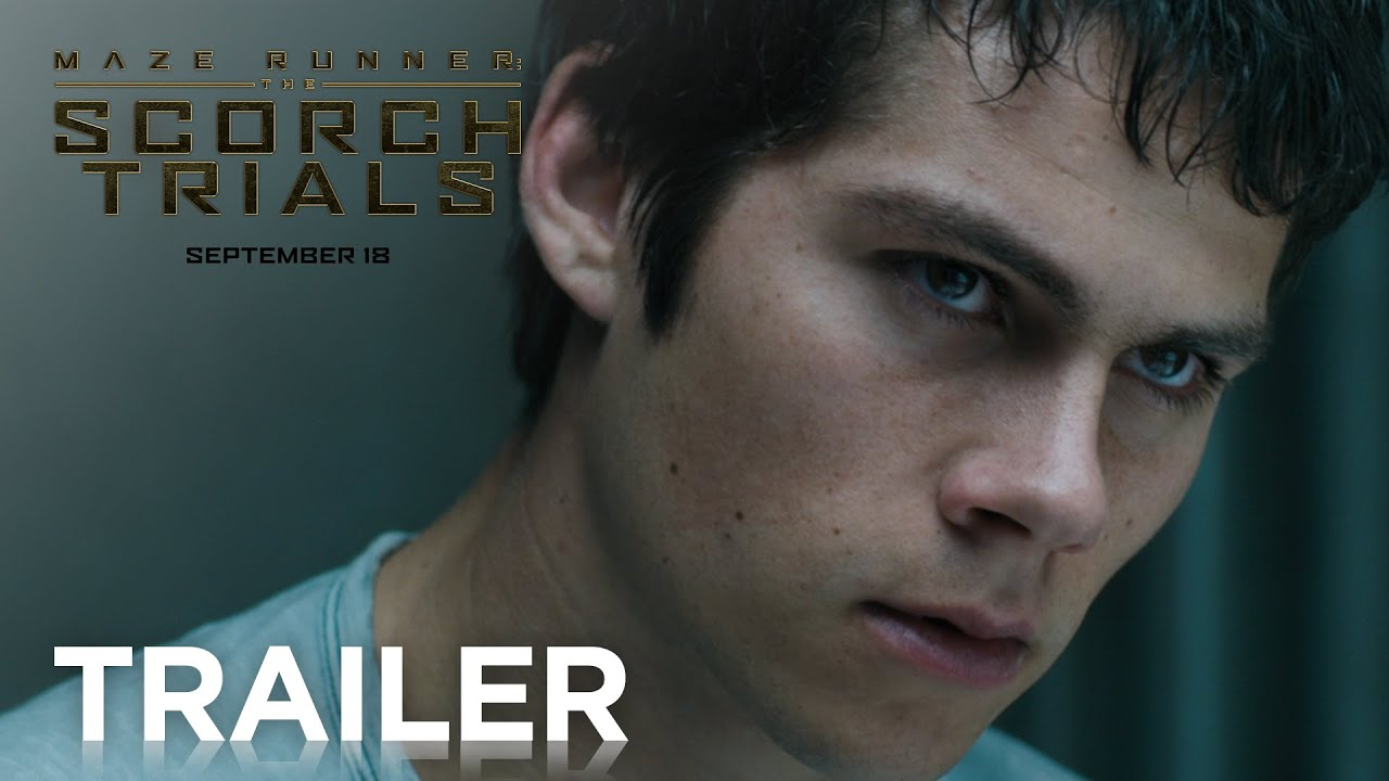 Maze Runner: The Scorch Trials Official Trailer 2