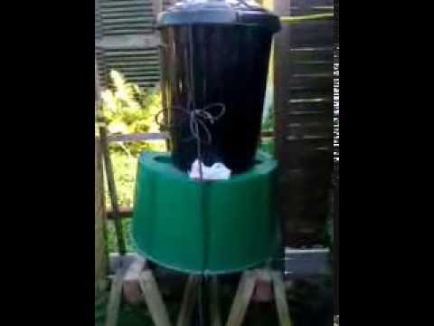 Gartendusche preiswert bauen