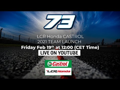 MotoGP: LCR Honda Castrol Team Launched (Video)