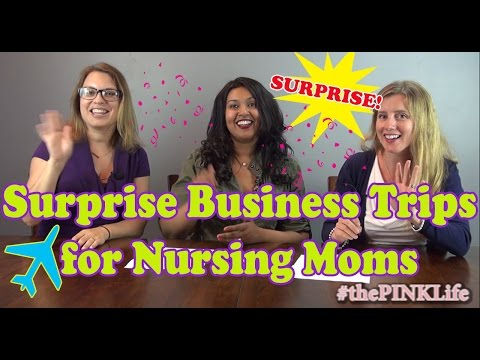 #thePINKLife Ep27: Surprise Business Trips for Nursing Moms