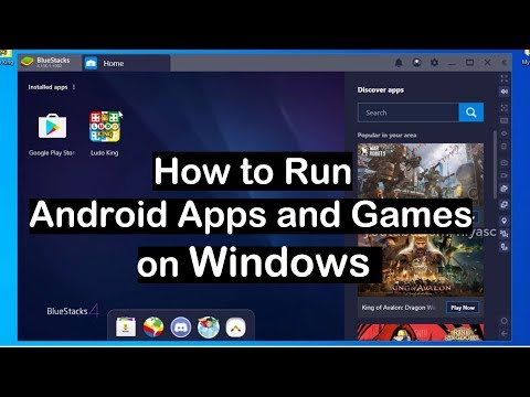 How to Install and Run Android Apps on Windows