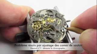 L'Atelier de Madman - Horlogerie - Réglage Landeron 48