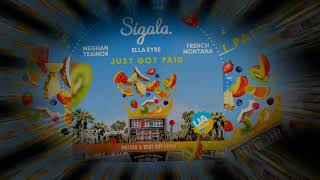 Sigala, Ella Eyre, Meghan Trainor   Just Got Paid Ft  French Montana (MalYar & Beat Boy Radio Remix)