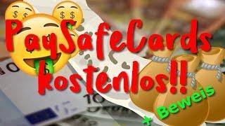 KOSTENLOS PaySafeCard verdienen! (Mit BEWEIS)