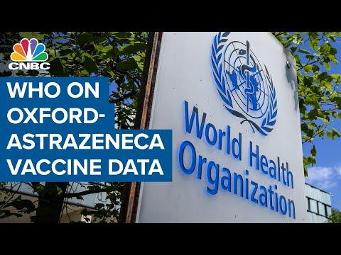 डब्ल्यूएचओ ऑक्सफोर्ड-एस्ट्राजेनेका कोरोना टीका डेटा पर: यह अच्छी खबर है