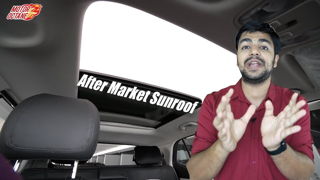 Motoroctane Youtube Video - Types of Car Sunroof - EXPLAINED in DETAIL