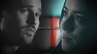 Skye & Ward | There was some good in him all along. [+4x19]