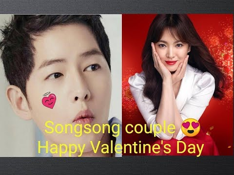 Songsong couple 😍Happy Valentine's Day