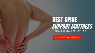 Sensyl 3.0 3-Zone Bio Foam Mattress Online-Usha Shriram