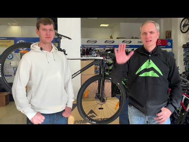 Видео Велосипед Merida Big Nine XT Glossy Pearl White/Matt Black