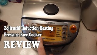 Zojirushi Induction Heating Pressure Rice Cooker Review 2020