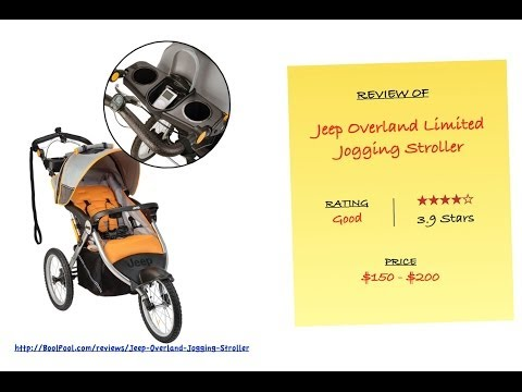 Review of Jeep Overland Limited Jogging Stroller with Front Fixed Wheel