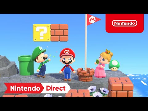 Super Mario Collaboration Items de Animal Crossing : New Horizons