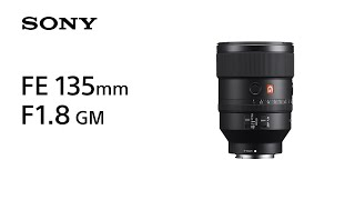 YouTube Video SDzcZgZ40BU for Product Sony FE 135mm F1.8 G Master Lens (SEL135F18GM) by Company Sony Electronics in Industry Lenses