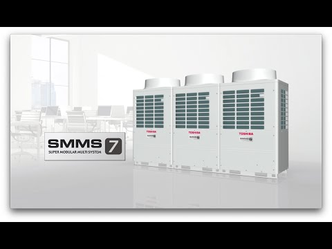 Toshiba SMMS-7 VRF Product Features