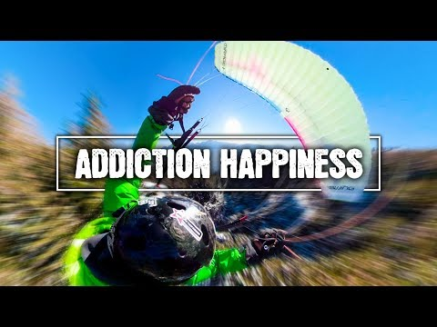 ADDICTION HAPPINESS I Paragliding & Speedflying Compilation GoPro