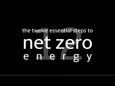 Los 12 pasos esenciales para la energía neta cero con Ted Clifton (Clifton View Homes)