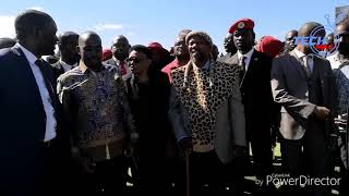 Gweru halts as Chamisa, Chief Ndiweni, Bobi Wine and DA leader arrives