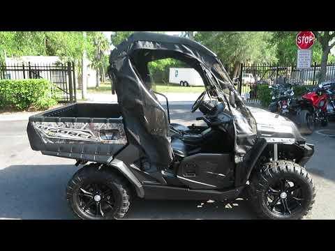 2017 CFMOTO UForce 500 HO EPS in Sanford, Florida - Video 1