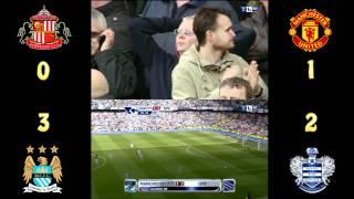 Sunderland-Man Utd & Man City-QPR