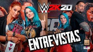 Entrevistas graciosas con Becky Lynch, Roman Reigns y más luchadores de la WWE