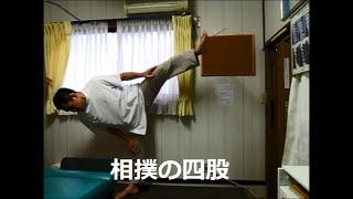 相撲の四股で腰痛予防 西淀川区 整体院 腰痛でお困りでしたらあさひ整体院へ sumo Shiko
