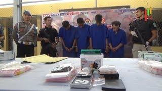 Tak Kapok Bisnis Sabu, Tiga Residivis ini Ditangkap Personel Polresta Banda Aceh