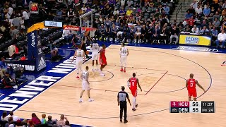 3rd Quarter, One Box Video: Denver Nuggets vs. Houston Rockets