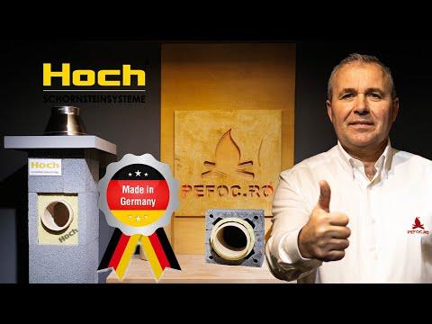 Cosul de fum ceramic HOCH Germania - prezentare de produs