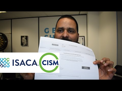 How I passed ISACA CISM exam after CISSP? - YouTube