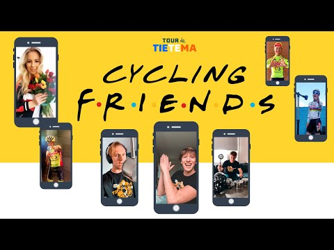 Video | Cycling Friends komt met hilarische opbeur-video in coronatijd