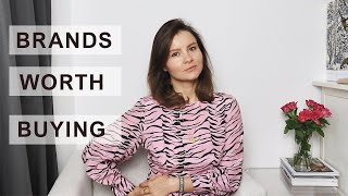 High Quality Fashion Brands Worth Investing In // The Geek Is Chic