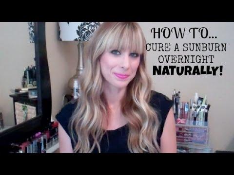 Video How to Heal a Sunburn Overnight! | Summer Saldana