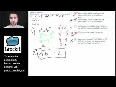 Grockit GMAT and MBA Admissions Course: Lesson 4, Part 4 – Quant Number Properties and Operations