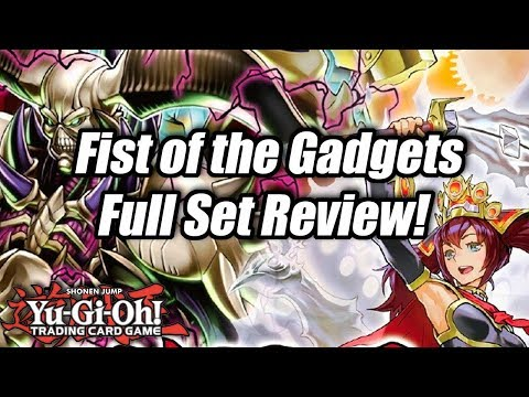 Yu-Gi-Oh! Fist of the Gadgets Spoiler & Full Set Review!