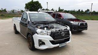แจ่มทุกคัน Toyota Revo ทรงเตี้ย 4 สไตล์ เรียกน้ำย้อยงาน Siam truck contest 2019 : รถซิ่งไทยแลนด์