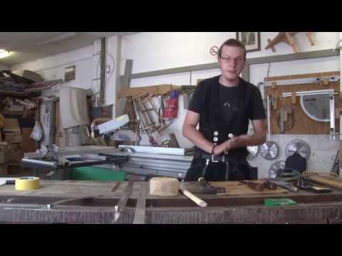 BUNDGESCHIRR - Latthammer - Zimmerer Azubi erklärt HOLZHANDWERK