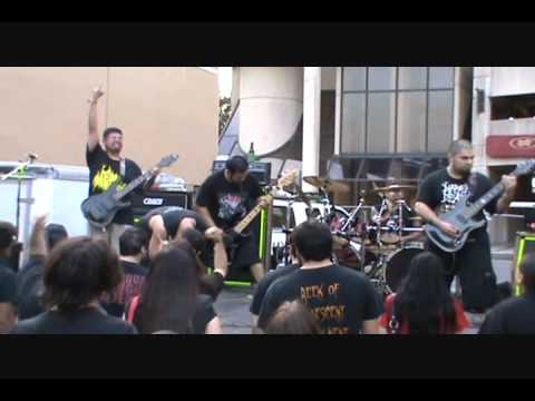 """Flesh Hoarder - """"Infatuation with Menstruation"""" live at Goregrowlers Ball 5 11-20-2011"""