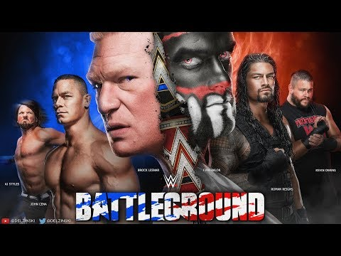 WWE 2K17 Universe Mode - Battleground (FULL PPV)