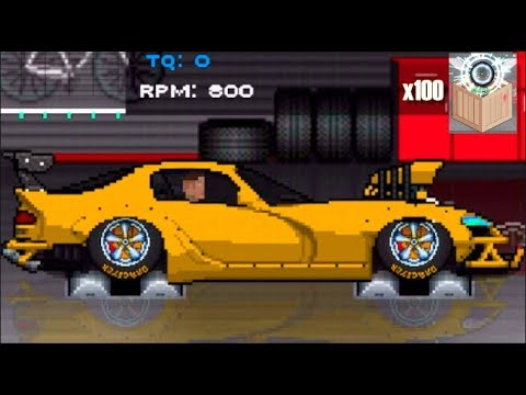 2500hp dodge viper update pixel car racer 100x crate opening slaptrain