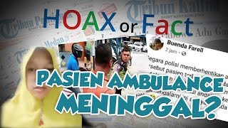 VIRAL Pasien Ambulans yang Sopirnya Adu Mulut dengan Polisi, Meninggal Dunia?