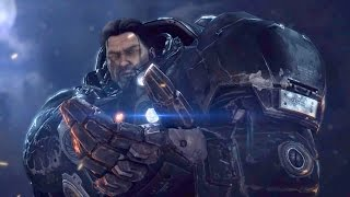 Warriors: Artanis and Raynor Shake Hands After Battle on Korhal (Starcraft 2 | Protoss | Cinematic)