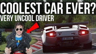 How Fast Can The GORGEOUS Lamborghini Countach Lap The Nordschleife?