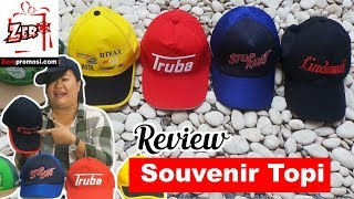 Review Souvenir Topi Promosi model Topi baseball