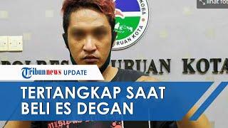 Dikira Pembeli Biasa, Polisi Tangkap Pengedar Narkoba di Pasuruan saat Sedang Beli Es Kelapa Muda