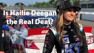 Is Hailie Deegan the Real Deal?