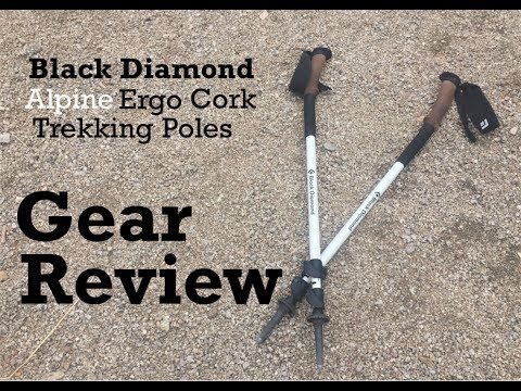 Black Diamond Alpine Ergo Cork Trekking Pole Review