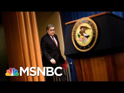 Bill Barr Couldn't Be More Destructive AG Than If Putin Picked Him | The 11th Hour | MSNBC