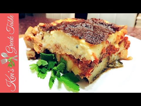 How To Make Moussaka – Traditional Greek Moussaka Recipe | Ken Panagopoulos
