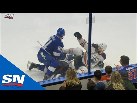 Vidéo: SCANDALE!!! Zack Kassian a KICKÉ son adversaire Erik Cernakavec son PATIN!!!!!!!!